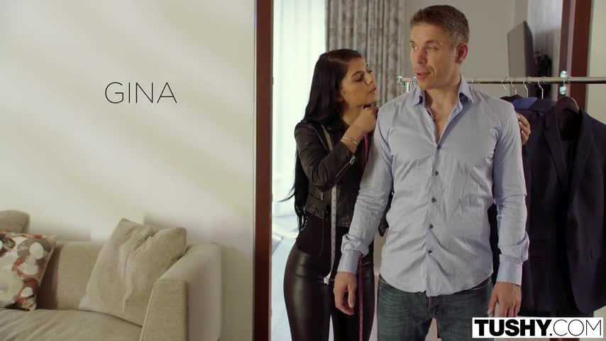 Gina taking in the ass because she is impressed by rich guy