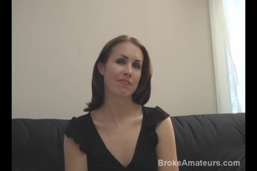 Amateur broke woman fucks for money